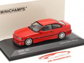 BMW M3 (E36) Byggeår 1992 mugello rød 1:43 Minichamps