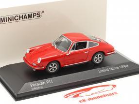 Porsche 911 Año de construcción 1964 guardias rojo 1:43 Minichamps