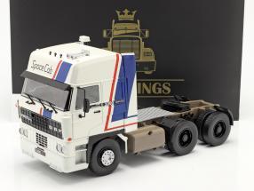 DAF 3300 SpaceCab un camion Année de construction 1982 blanc / bleu / rouge 1:18 Road Kings