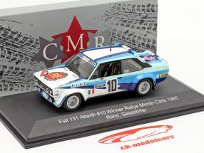 Fiat 131 Abarth #10 Sieger Rallye Monte Carlo 1980 Röhrl, Geistdörfer 1:43 CMR