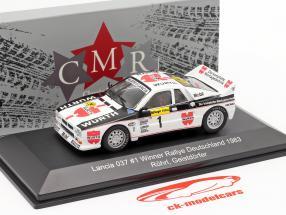 Lancia 037 #1 gagnant Rallye Allemagne 1983 Röhrl, Geistdörfer 1:43 CMR