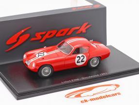 Lotus Elite #22 Goodwood Tourist Trophy 1961 Leston 1:43 Spark