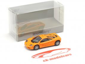McLaren F1 Roadcar 1994 laranja 1:87 Minichamps