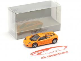 McLaren F1 Roadcar 1994 naranja 1:87 Minichamps