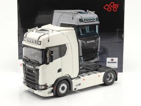 Scania V8 730S 4x2 Lastbil hvid 1:18 NZG