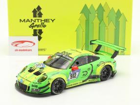 Porsche 911 (991) GT3 R #912 Ganador 24h Nürburgring 2018 Manthey Grello 1:18 Minichamps