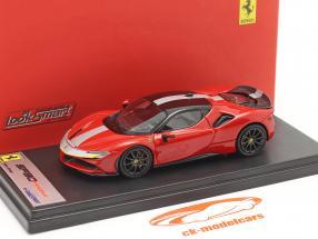 Ferrari SF90 Stradale Bouwjaar 2019 corsa rood / zwart 1:43 LookSmart