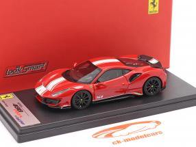 Ferrari 488 Pista Piloti #51 Baujahr 2019 corsa rot 1:43 LookSmart
