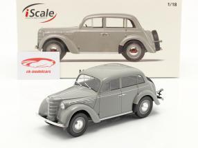 Moskvich 400 Baujahr 1946 grau 1:18 iScale