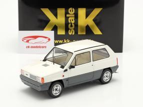 Fiat Panda 45 MK I Baujahr 1980 weiß 1:18 KK-Scale