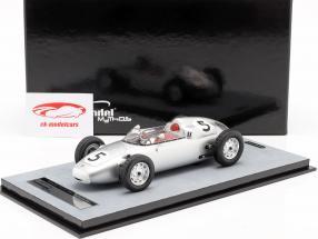 Hans Herrmann Porsche 718/2 #5 2do Solitude GP fórmula 2 1960 1:18 Tecnomodel