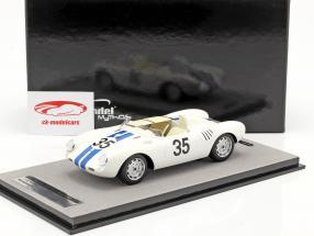 Porsche 550A RS #35 Octavo 24h LeMans 1957 Hugus, de Beaufort 1:18 Tecnomodel