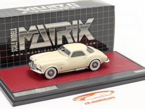 DeSoto Adventurer 1 Ghia Bouwjaar 1953 room Wit 1:43 Matrix