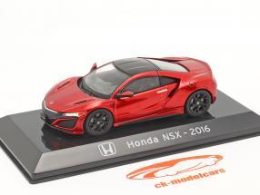 Honda NSX Baujahr 2016 rot metallic 1:43 Altaya
