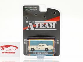 Dodge Monaco Taxi 1978 Series de Televisión The A-Team (1983-87) 1:64 Greenlight