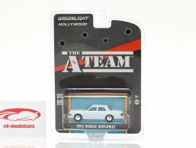 Dodge Diplomat 1981 TV series The A-Team (1983-87) 1:64 Greenlight