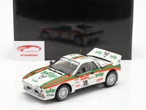 Lancia 037 Rally #18 5. plads Rallye SanRemo 1983 Biasion, Siviero 1:18 Kyosho