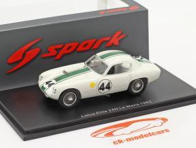 Lotus Elite #44 Sieger GT1.3 24h LeMans 1962 Hobbs, Gardner 1:43 Spark