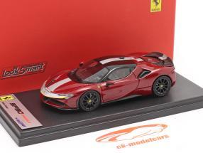 Ferrari SF90 Stradale Byggeår 2019 fiorano rød / sort 1:43 LookSmart