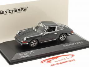 Porsche 911 Byggeår 1964 skifer Grå 1:43 Minichamps