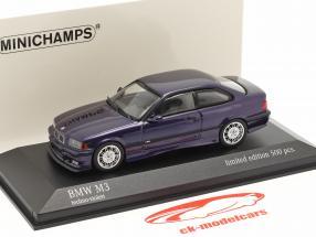 BMW M3 (E36) Bouwjaar 1992 techno paars 1:43 Minichamps