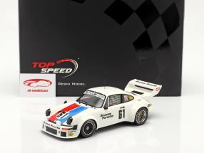 Porsche 934/5 #61 3ª 12h Sebring 1977 Brumos Racing 1:18 TrueScale