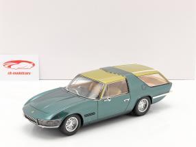 Ferrari 330GT Shooting Brake Vignale 1968 vert métallique / or 1:18 Matrix
