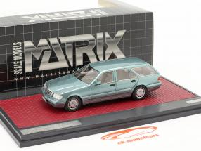 Mercedes-Benz S 500T (S140) Binz / Cadform prototype 1995 light blue metallic 1:43 Matrix