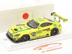Mercedes-Benz AMG GT3 #999 2. plads 10h Suzuka 2019 Buhk, Engel, Marciello 1:43 Spark