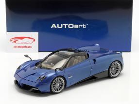 Pagani Huayra Roadster year 2017 blue carbon 1:18 AUTOart