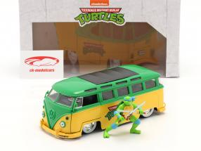 Volkswagen VW Bus serie TV Teenage Mutant Ninja Turtles Con figura 1:24 Jada Toys