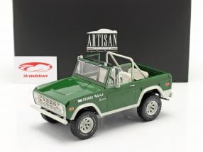 Ford Bronco Buster 1970 Movie Smokey and the Bandit (1977) green 1:18 Greenlight