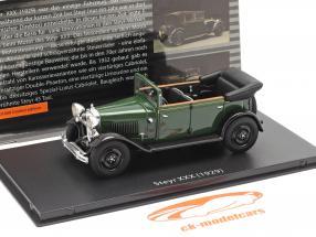 Steyr XXX Cabriolet Ano de construção 1929 verde 1:43 Fahr(T)raum