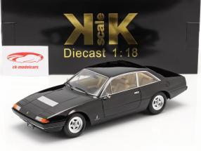 Ferrari 365 GT4 2+2 Bouwjaar 1972 zwart 1:18 KK-Scale