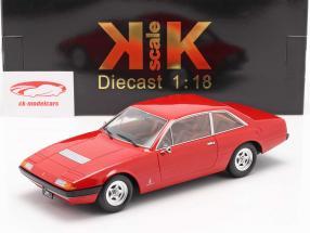Ferrari 365 GT4 2+2 Bouwjaar 1972 rood 1:18 KK-Scale