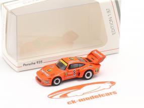 Porsche 935 Jägermeister #8 2nd 1000km Nürburgring 1978 Schurti, Ickx 1:87 Schuco