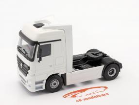 Mercedes-Benz Actros Vrachtwagen Wit 1:50 Tekno Joal