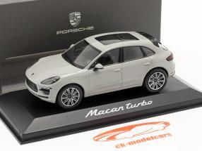 Porsche Macan Turbo Baujahr 2019 kreidegrau 1:43 Minichamps