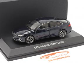 Opel Insignia Grand Sport Dyb hav blå 1:43 iScale