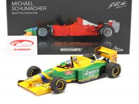 M. Schumacher Benetton B193B #5 Sieger Portugal GP Formel 1 1993 1:18 Minichamps