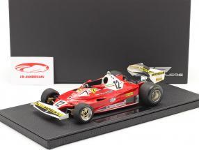 G. Villeneuve Ferrari 312T2 #12 Argentino GP fórmula 1 1978 1:18 GP Replicas