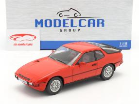 Porsche 924 Turbo Año de construcción 1979 rojo 1:18 Model Car Group