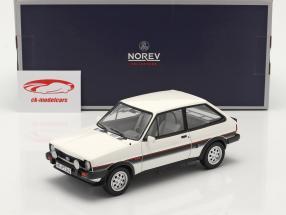 Ford Fiesta XR2 Byggeår 1981 hvid / sort 1:18 Norev