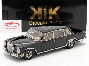 Mercedes-Benz 600 SWB (W100) Anno di costruzione 1963 nero 1:18 KK-Scale