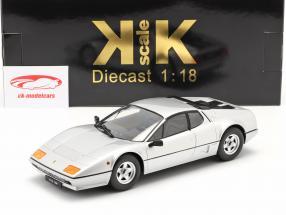 Ferrari 512 BBi Bouwjaar 1981 zilver 1:18 KK-Scale