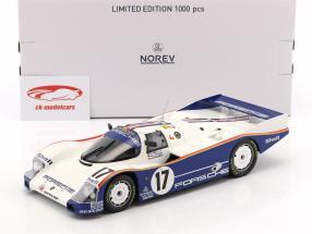 Porsche 962C #17 Ganador 24h LeMans 1987 Stuck, Bell, Holbert 1:18 Norev