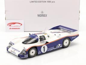 Porsche 962C #1 vincitore 24h LeMans 1986 Stuck, Bell, Holbert 1:18 Norev