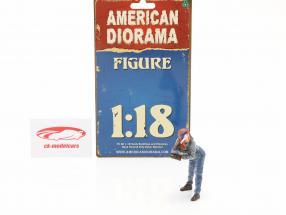 figur #1 Kvinde Machanic 1:18 American Diorama