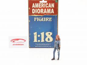 figura #3 Femmina Meccanico 1:18 American Diorama