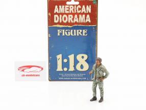 mécanicien Tim figure 1:18 American Diorama